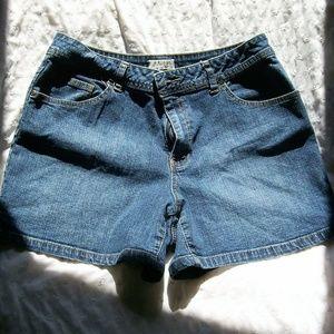 St. John's Bay Women's Stretch Denim Shorts